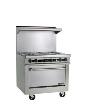 Therma-tek Gas Restaurant Range 36 Inch
