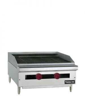 Therma-tek Gas Counter Radiant & Char-Rock Broilers